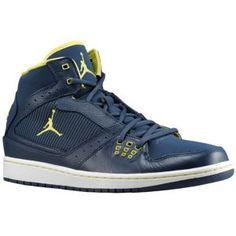 Jordan 1 Flight - Men's - Squadron Blue/Electric Yellow