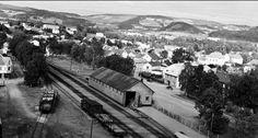 Nord-Trøndelag fylke Verdal Verdalsøra 1957 Utg Mittet