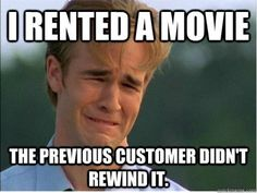 1990s problems. crying dawson + outdated issues = perfect meme