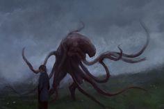 Monster Design, Monster Art, Fantasy Rpg Games, Strange Beasts, Fantasy Creatures, Dark Creatures, Creature Feature, Creature Concept, Sci Fi Art