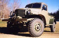 1941 Dodge military power wqagon