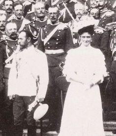 Tsar Nicholas ll of Russia and Empress Alexandra Feodorovna of Russia.A♥W