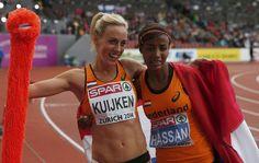 Sifan Hassan en Susan Kuijken hebben zaterdag 16 aug 2014 op de EK atletiek in Zürich zilver en brons gepakt op de 5000 meter. Sifan Hassan was na afloop zichtbaar teleurgesteld aangezien ze de favoriete was met de snelste Europese tijd van het seizoen. Kuijken was juist door het dolle heen. De Nijmeegse pakte haar eerste medaille op een groot internationaal toernooi. Het behalen van 2 medailles op de 5km was een primeur voor nederland.