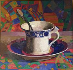 Italian Teacup - Randall Lake Art