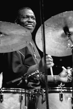 Elvin Jones - Jacob and I were fortunate enough at Regatta Bar to shake hands with a man who shook hands with John Coltrane. I was amazed he died so soon afterward because he seemed the acme of health, vigor, vitality.