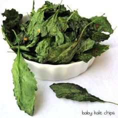 baby kale chips from anuneducatedpalate.com