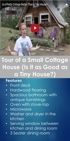 Tour of a Small Cottage House (Is it as Good as a Tiny House?) | Tiny Quality Homes