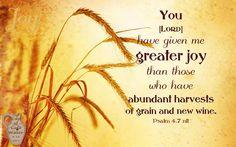 Psalm 4.7 ~ No Greater Joy ~ 2015-1022