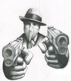 #gangster art #Gangsta For more great pins go to @KaseyBelleFox