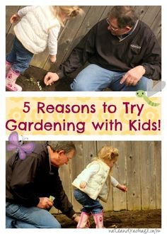 There are SO many reasons for kids to get out in the garden. Here are just 5! Gardens promote responsibility, encourage picky eaters to try new foods, and are a great setting for experiential math & science lessons!