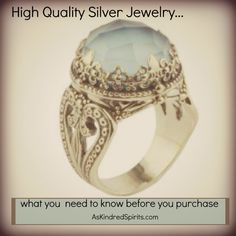 What you need to know before you purchase high quality #silver