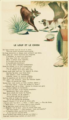 Le loup et l'agneau, poème de Jean de La Fontaine - poetica.fr