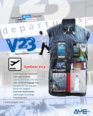 Clear airport security in no time #airport #TSA #ipad #travel #pockets #gadgets #TITP