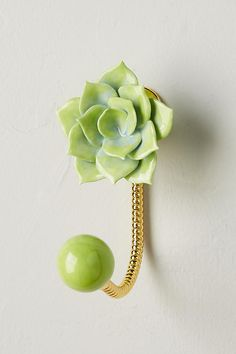 Horticulture Succulent Hook | Anthropologie