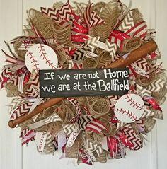 Baseball Drawing Simple - Baseball Videos Birthday Party - Baseball Drills For Kids - - Pink Baseball Aesthetic - Baseball Wreaths, Sports Wreaths, Baseball Art, Wreaths For Front Door, Door Wreaths, Burlap Wreath, Diy Wreath, Wreath Ideas, Summer Wreath