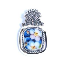 Broken China Jewelry - Bavarian Blue Forget Me Nots - Sterling Silver Pendant Vintage Belle Broken China Jewelry, http://www.amazon.com/dp/B008LYL1BO/ref=cm_sw_r_pi_dp_DGUfrb0JQHRAN