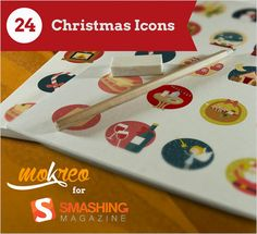 Freebie: Christmas Icon Set (24, Icons, AI, PSD, EPS, PDF, SVG, PNG)