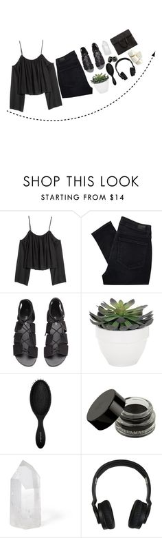 """""""*another love*"""" by my-black-wings ❤ liked on Polyvore featuring Paige Denim, H&M, Torre & Tagus, Sephora Collection, Mapleton Drive, Nixon and Maison Margiela"""