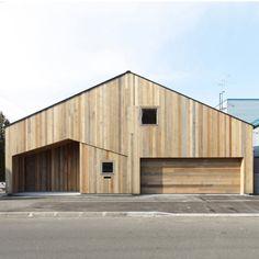 japanese wooden structure house takagi 1