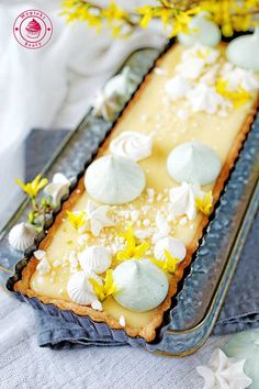 Easter Recipes, Meringue, Food Pictures, Eat Cake, Camembert Cheese, Recipies, Goodies, Menu, Sweets