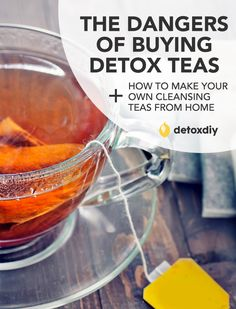 This is a must read for anyone interested in detoxing and is thinking of buying a manufactured detox tea. They also have some great detox tea recipes you can make at home. Without having to buy untrustworthy and expensive store-bought tea. Detox Tee, Detox Tea Diet, Detox Drinks, Healthy Drinks, Get Healthy, Healthy Tips, Body Detox, Healthy Snacks, Healthy Style