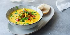 Currygryte med kylling