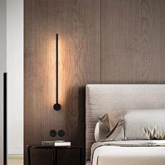 Bedside Wall Lights, Bedroom Wall Lights, Bedroom Sconces, Wall Lamps, Modern Hotel Room, Hotel Room Design, Master Bedroom Interior, Suites, Modern Interior Design