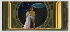 Ralph McQuarrie art by Official Star Wars Blog, via Flickr
