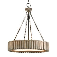 Currey & Company Greyledge Chandelier CU9326