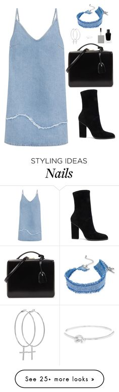 """Untitled #538"" by hayleyl22 on Polyvore featuring M.i.h Jeans, Alexander Wang, Mark Cross, INC International Concepts, Kiki Minchin, Givenchy and Argento Vivo"