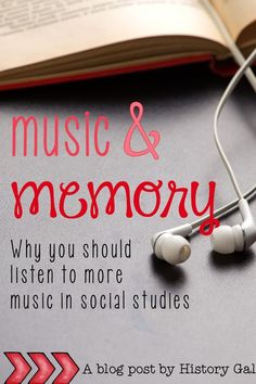 Learn how music benefits social studies students Teaching Us History, Tools For Teaching, History Education, Teaching Government, Secondary Teacher, Social Studies Resources, Paragraph Writing, Going Back To School, Study