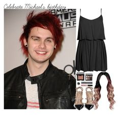 """""""Celebrate Michael's birthday"""" by aasne-midtbo ❤ liked on Polyvore featuring Valentino, Bobbi Brown Cosmetics and Boohoo"""