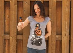 """""""Nature Photography"""" - Threadless.com - Best t-shirts in the world"""