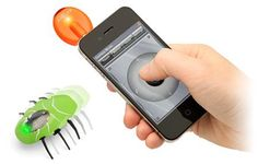 Smartphone Controlled Insectoids