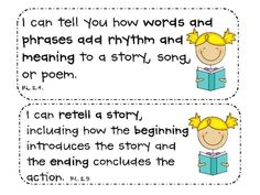 """2nd Grade Common Core """"I Can"""" Kid-Friendly Statements {hal image 4"""