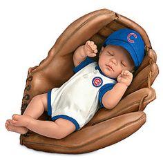 MLB Chicago Cubs Baby Boy Doll: Born A Cubs Fan - Realistic Baby Dolls