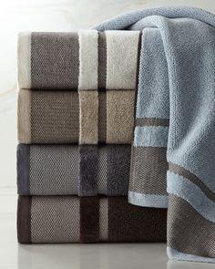 Mercer Towels at Horchow. Grey Bath Towels, Best Bath Towels, Bath Towel Sets, Bathroom Towels, Hand Towels, Large Baths, Face Towel, Luxury Towels, Quilts