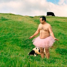 Wearing a pink tutu to fight breast cancer... http://thetutuvproject.com/