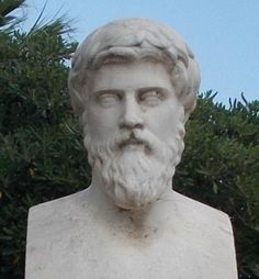 Plutarch of Chaeronea / Plutarch was a Greek historian, biographer, and essayist, known primarily for his Parallel Lives and Moralia. He is classified as a Middle Platonist. Plutarch's surviving works were written in Greek, but intended for both Greek and Roman readers. Lived: 046 AD - 120 AD