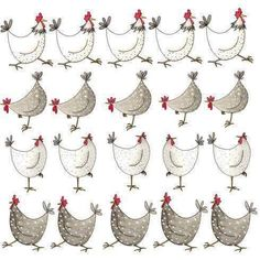Shop for Multi Chickens Greeting Card by Sarah Boddy. Fun chicken, country and coastal cards and homeware featuring designs from beautiful original artwork Happy Easter Greetings, Easter Greeting Cards, Chicken Art, Chicken Drawing, White Chicken, Chickens And Roosters, Galo, Watercolor Cards, Watercolor Background