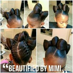 braids for kids Lil Girl Hairstyles, Natural Hairstyles For Kids, Kids Braided Hairstyles, Natural Hair Styles, Short Hair Styles, Teenage Hairstyles, Beautiful Hairstyles, Braid Styles, Children Hairstyles