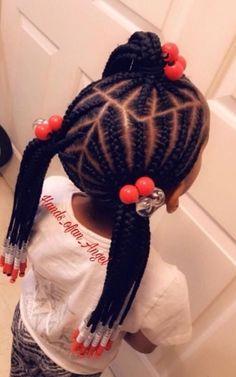 Fantastic children's hairstyles that you have to try on you / Fantastische Kinderfrisuren, die Sie anprobieren müssen / # Toddler Braided Hairstyles, Toddler Braids, Childrens Hairstyles, Black Kids Hairstyles, Girls Natural Hairstyles, Baby Girl Hairstyles, Braids For Kids, Girls Braids, Natural Hair Styles