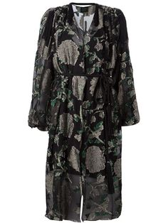 Shop Lanvin floral sheer dress  in Capitol from the world's best independent boutiques at farfetch.com. Shop 300 boutiques at one address.