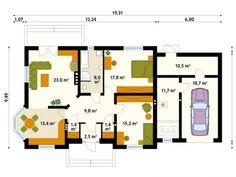 Case la tara pentru parinti. Primitoare pentru stilul de viata visat House Plans, Floor Plans, How To Plan, Design, Log Projects, Build House, House Floor Plans, Floor Plan Drawing