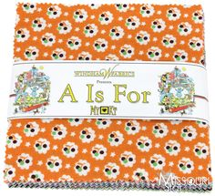 So cute for a baby! A is For ... Charm Pack from Missouri Star Quilt Co