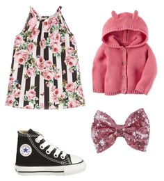"""""""Baby girl"""" by prisdestyles on Polyvore featuring Converse y Carter's"""