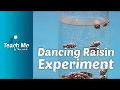 Teach Me: Dancing Raisin Experiment - YouTube