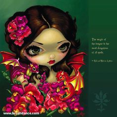 Strangeling Wall Calendar, featuring the art of Jasmine Becket-Griffith