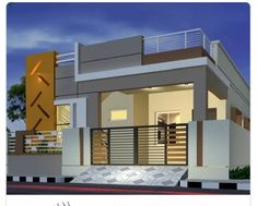 House Balcony Design, House Outer Design, House Main Gates Design, 3 Storey House Design, Single Floor House Design, House Outside Design, Village House Design, Bungalow House Design, House Front Design