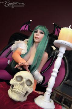 Morrigan Aensland by Brynhild-Undomiel.deviantart.com on @DeviantArt - More at https://pinterest.com/supergirlsart #darkstalkers #cosplay #girl